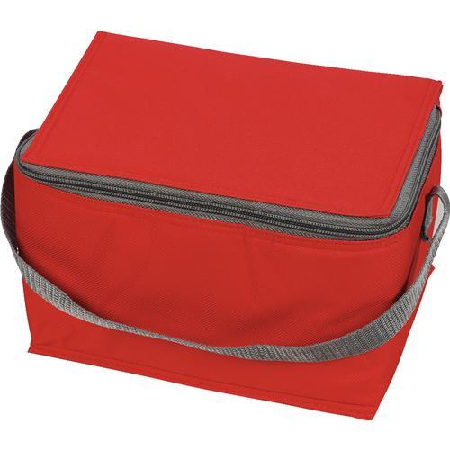 køletaske-med-logo-tryk-rød-reklamedimser