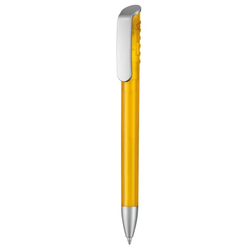 kuglepen-topspinsilver1-med-logo-tryk-reklamedimser