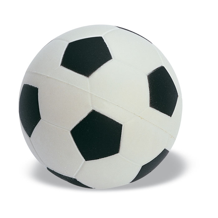Stressfodbold i blødt PU-materiale