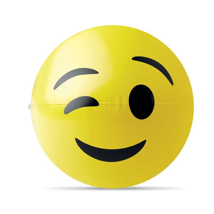 Badebold med blinkende emoji