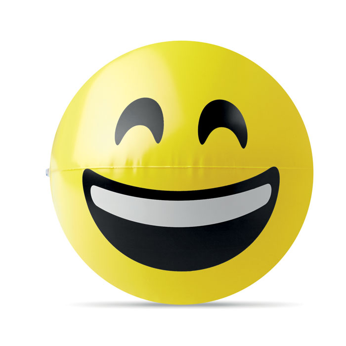 Badebold med glad emoji